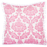 damask_pink_pompom_cushion