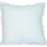 springtime-blue-coin-dot-cushion