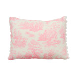 pink-toile-pompom-cushion